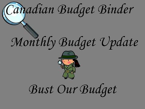 Bust Our Budget Budget Update