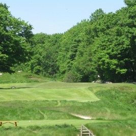 The 13th at Devil's Paintbrush -- a whimsical place to play golf.
