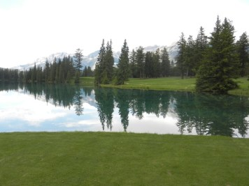 Jasper Park Lodge -- one of Canada's finest golf courses.