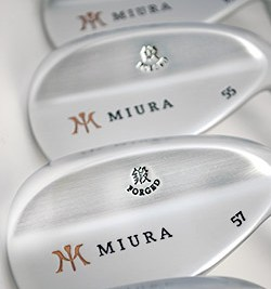 The understated beauty of the Miura New Series wedges belie a surprising amount of versatility and functionality.
