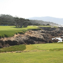 The incredible 17th at Cypress Point.
