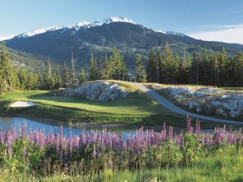 The best of Whistler's courses is Chateau Whistler, which uses the mountains in a way other area courses don't.