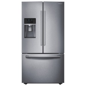 "Samsung 36"" 22.5 Cu. Ft. French Door Refrigerator - Stainless Steel"