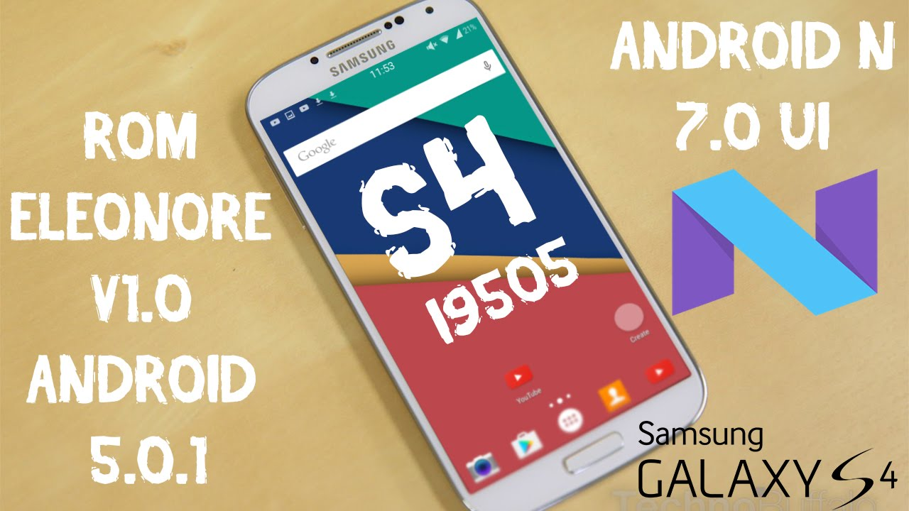 ANDROID N NO GALAXY S4