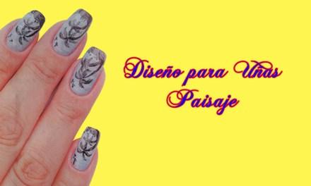 Fotos o Imagenes de Uñas Decoradas, Manicure, Diseño de Uñas Paisaje paso a paso 7