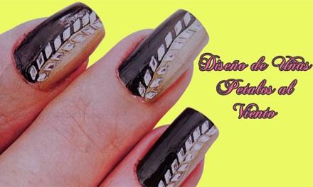 Fotos o Imagenes de Uñas Decoradas, Manicure, Diseño de Uñas de Petalos al Viento paso a paso 22