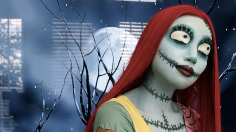 maquillaje de Sally