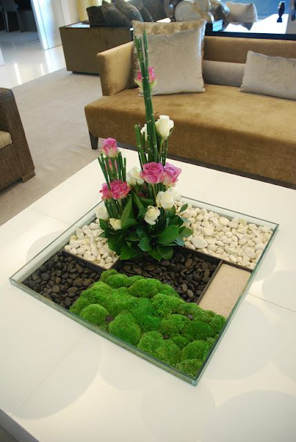 Decoraci n de interiores ideas con plantas espejos y m s for Jardines pequenos en interiores