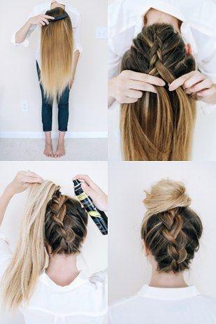 peinados faciles 16