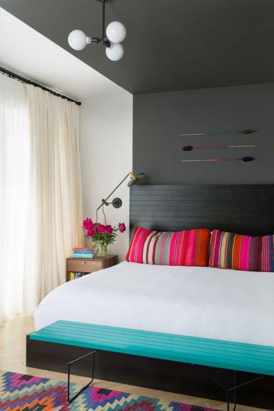 decoración de cuartos en color gris 9