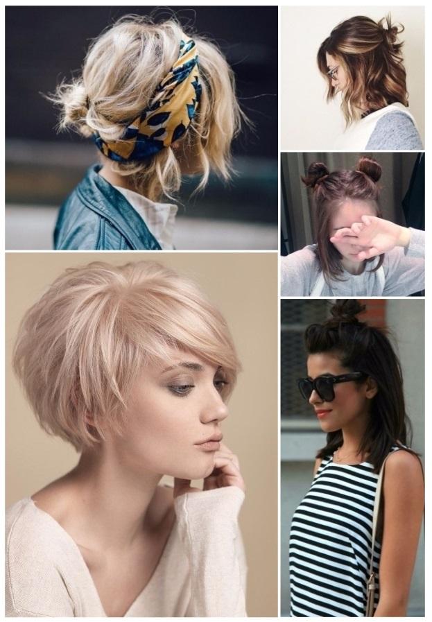 Peinados para cabello corto, �f�ciles y r�pidos!