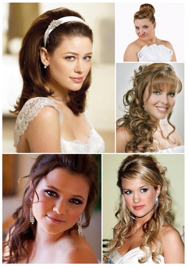peinados de novia pelo largo ondulado