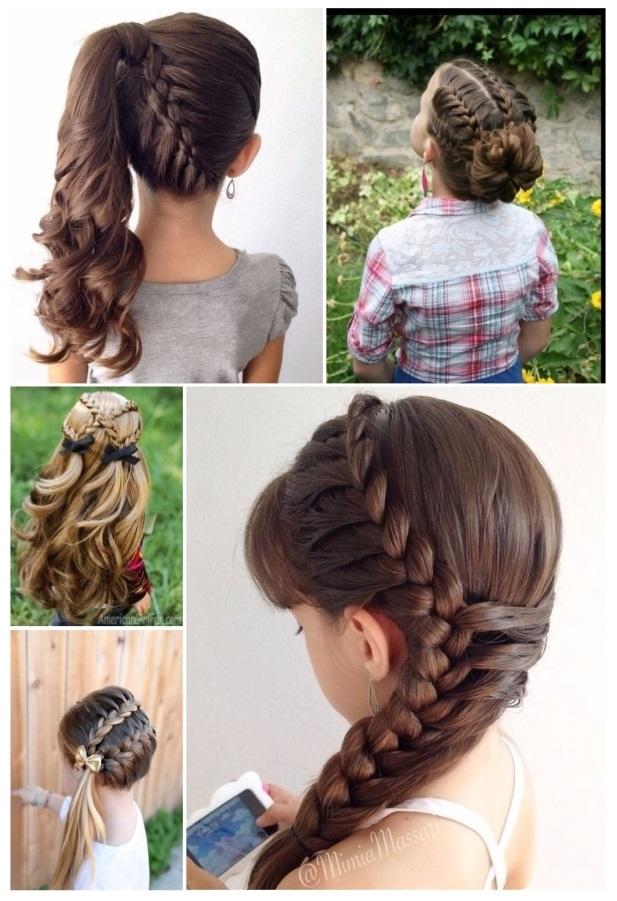 lindos peinados con trenzas
