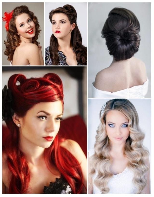 como hacer peinados pin up pelo largo - Peinados Pin Up