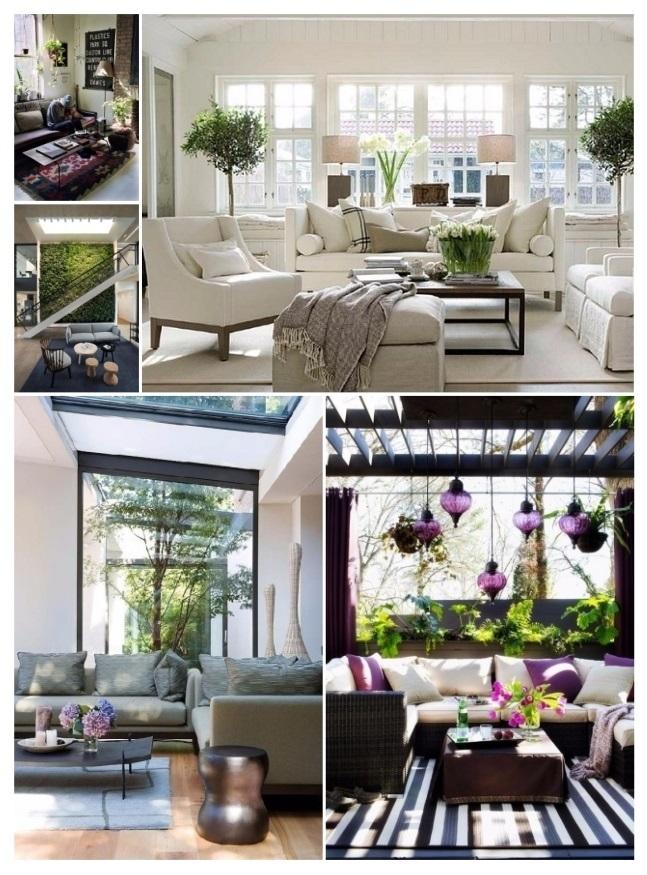 decoración de salas elegantes