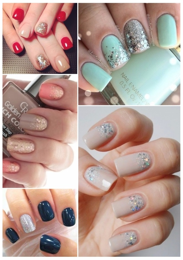 fotos de uñas decoradas con gelish