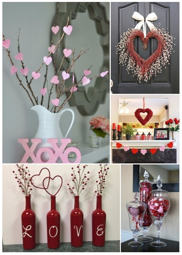 Como decorar para san valent n 60 hermosas ideas de for Decoracion de puertas de san valentin