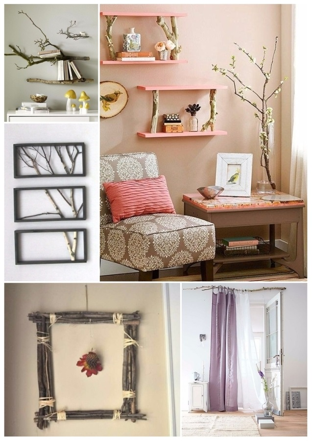 pinterest decorar con ramas secas