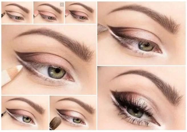 Como maquillar ojos verdes paso a paso - Como maquillarse paso apaso ...