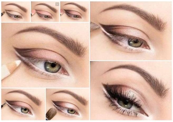 Como maquillarse los ojo lneas para que sus ojos hablen como maquillarme los ojos con una - Colores verdes azulados ...