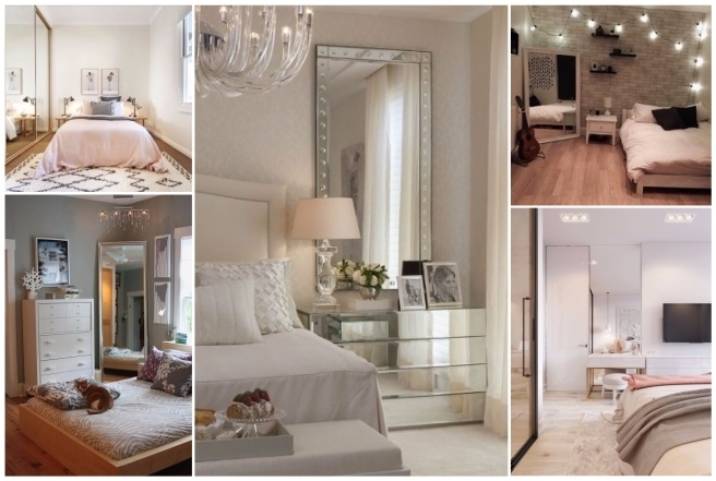 decorar armarios con espejos
