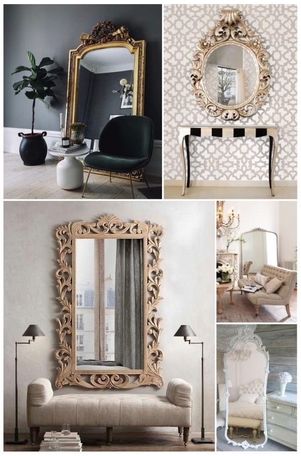 Decorar con espejos 40 preciosas ideas para tu hogar for Espejos de pie conforama