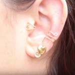 como hacer aretes ear cuff