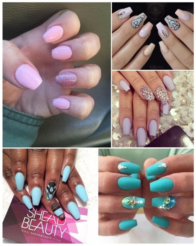 Uñas ballerina: ¡+30 diseños de uñas decoradas con punta coffin ...