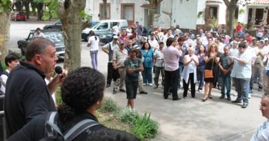 Trabajadores municipales. (Foto archivo)