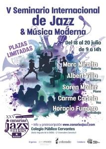 V Seminario Internacional de Jazz & Música Moderna