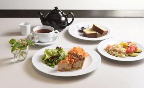 マーガレット・ハウエル SHOP&CAFE 二子玉川の料理