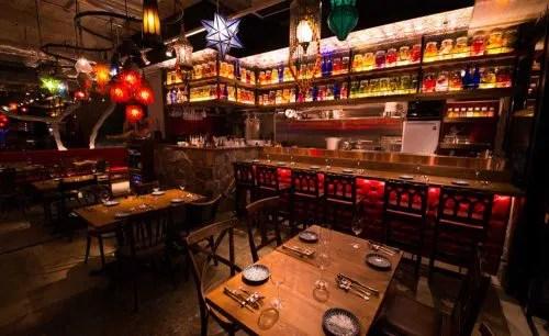 Asian Cuisine A.O.C.の店内