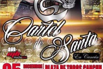 Cartel de Santa Plaza de Toros Cancun