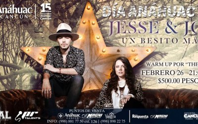 Jesse y Joy en Cancun