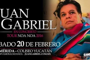 Juan Gabriel en Mérida