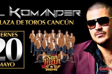 El Komander en Cancun 2016