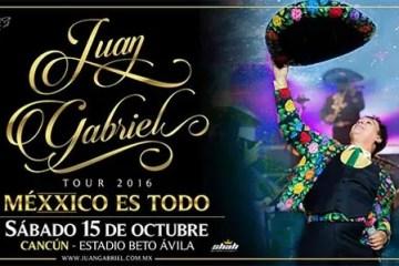 Juan Gabriel en Cancun