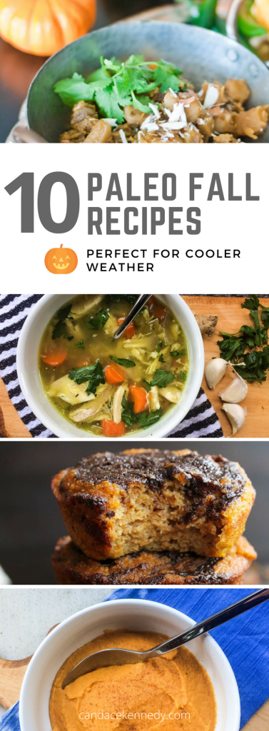 10 Paleo Fall Recipes Perfect for Cooler Weather | The Real Food Effect by Candace Kennedy, Certified Nutritionist