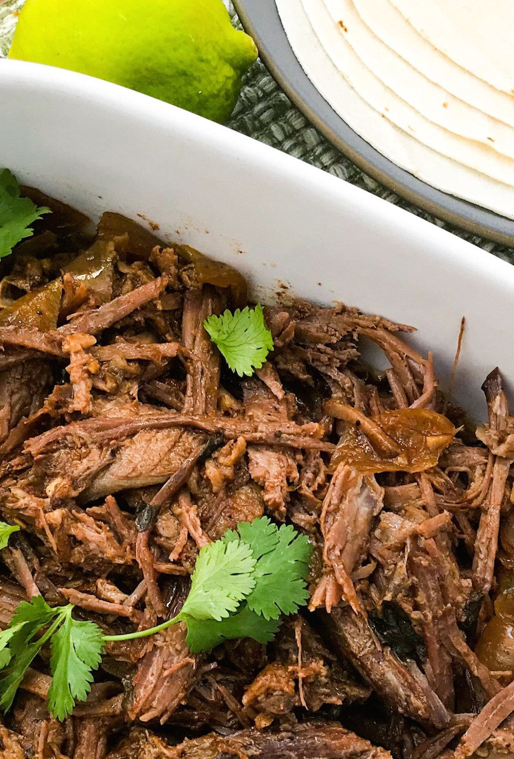 Slow Cooker Cowboy Brisket Tacos | Paleo, Low-carb, Keto | The Real Food Effect by Candace Kennedy, Holistic Nutritionist
