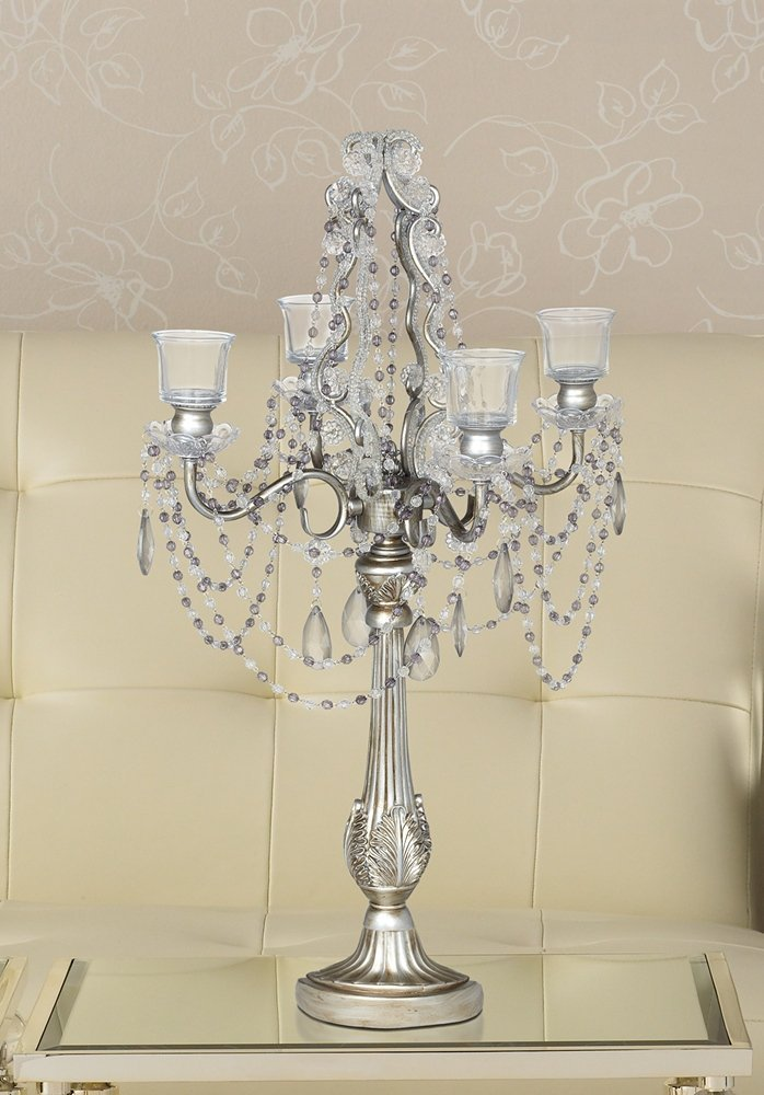 Silver Wedding Candelabras on Sale