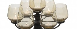 7-Tea Light Round Candelabra
