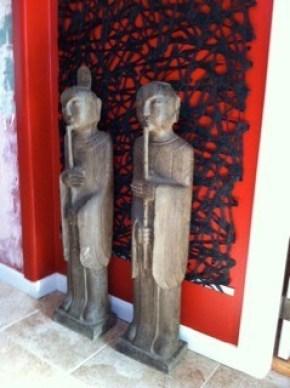 Namaste monks