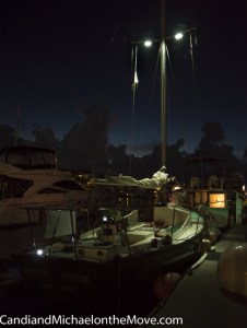Our boat, the High Tide