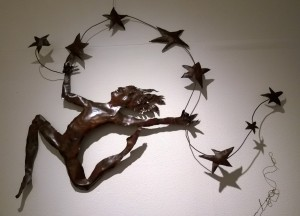 One of Laura McAloon's wonderful metal sculptures