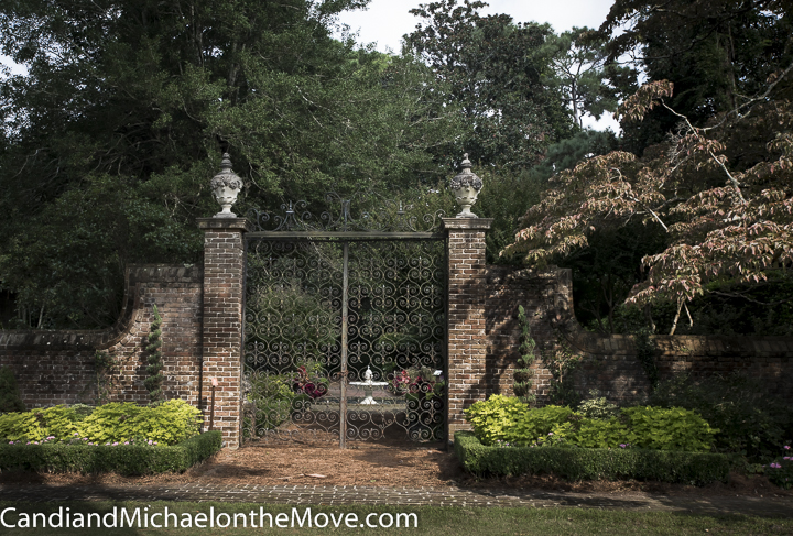 These beautiful 15 foot gates originally hung at the French Embassy in Washington DC