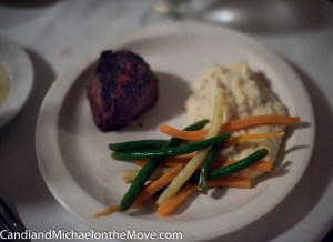 "My ""measly"" 6 oz. Filet Mignon was out of this world good"