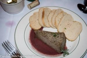The fabulous Mushroom Cheesecake.  I need to learn how to make this.