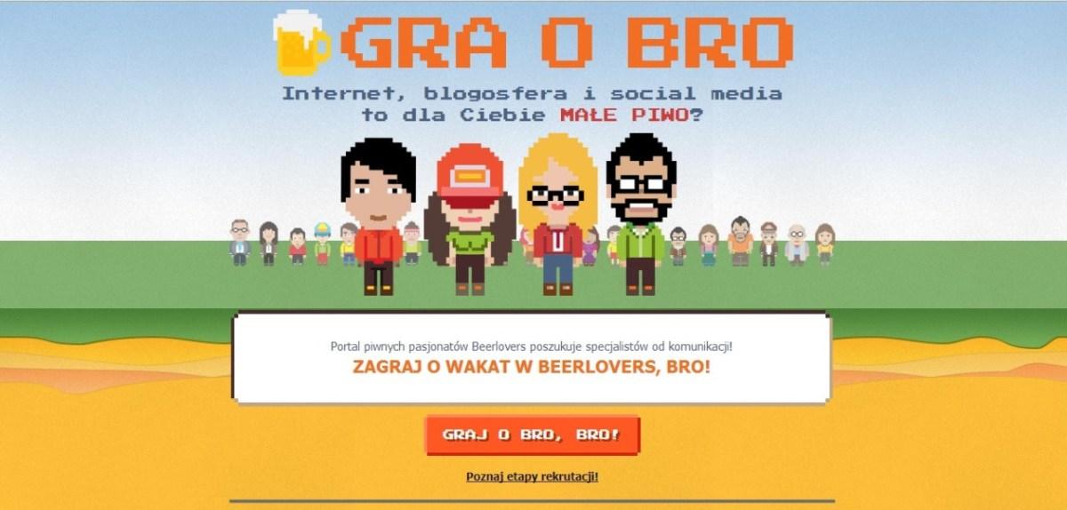 Gra o Bro. Piwny test rekrutacyjny Kompanii Piwowarskiej