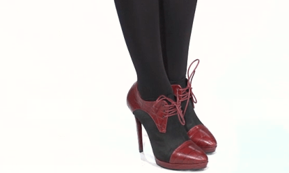 evening look donna karan hosiery  Interview: Core Fusions Elisabeth Halfpapp Shares Tips for Obtaining Long, Lean Legs!