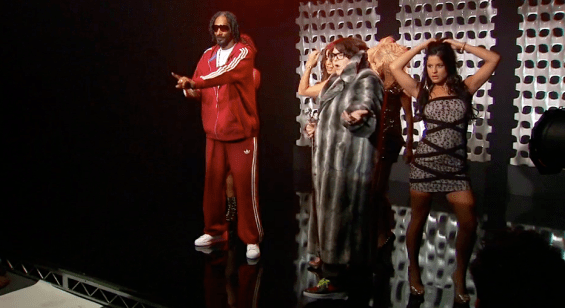 snoop dogg andy milonakis and the hot pocket dancers 1 Images + Video: Rapper Snoop Doggs Hit Remix Pocket It Like Its Hot for Hot Pocket